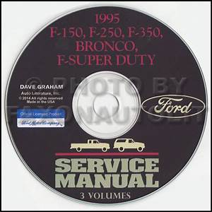 1995 Ford Truck Cd Repair Shop Manual F150