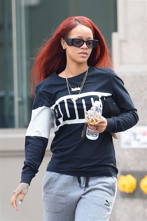 Style 2015 Frühling by Rihanna Style Out In New York City May 2015