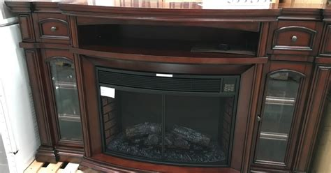 electric fireplace costco well universal 72 quot electric fireplace media mantle