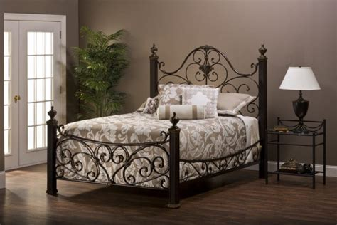 Wrought Iron Cal King Headboard by 15 Iron Bed Frames For Awesome Bedroom Top Inspirations