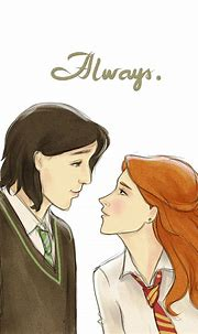Severus and Lily by kimpertinent on DeviantArt