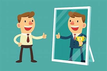 Mirror Reflection Clip Vector Yourself Illustrations Imagine