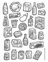 Colouring Kiddicolour Supermarket Colour Lots 01v sketch template