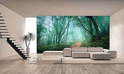 mysterious dark forest wall mural photo wallpaper giant