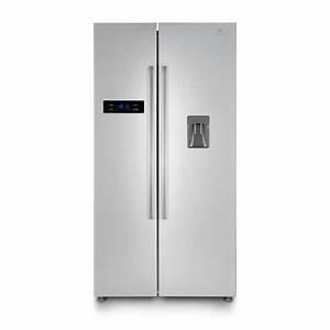 Refrigerateur Distributeur D Eau : continental edison r frig rateur am ricain 525 l 348 ~ Melissatoandfro.com Idées de Décoration
