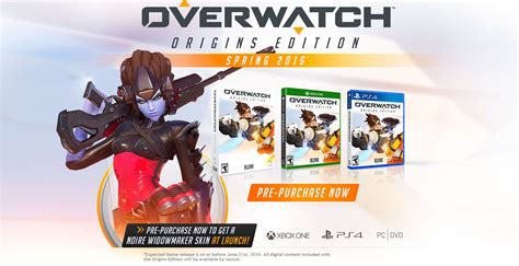 Overwatch Origins Edition Release Date Pegged For Spring