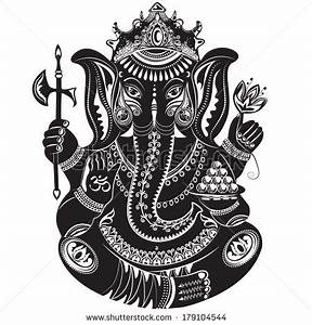 Small Ganesh Outline | Tattooed | Pinterest | Ganesh ...