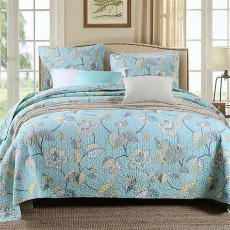 Coverlet Sets Australia by Cotton Floral Patchwork Quilt Coverlet Bedspread Throw Rug