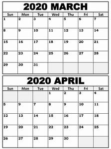 Free Printable September 2020 Calendar Printable March To May 2020 Calendar With Holidays One