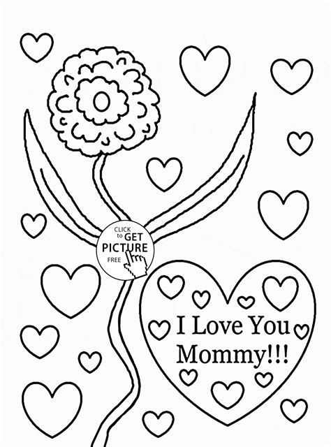 Mom Coloring Pages Coloring Pages For Children
