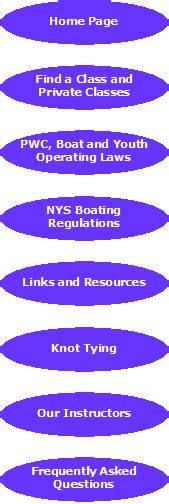 Nys Boating Laws by Nys Boating Regulations