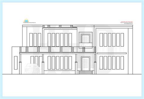 kerala home design  floor plans beautiful contemporary