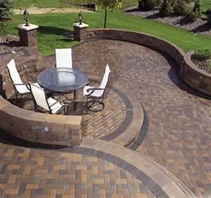 Lovely concrete paver patio design ideas patio design 272 for Concrete paver patio ideas