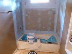 Bathtub Drain Stop by Tile Backer Board Installation 60 Quot Bathtub Surround