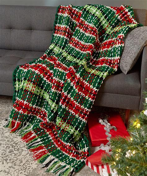 Christmas Afghan Crochet Pattern Heart
