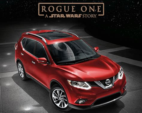 nissan rogue star wars edition nissan goes rogue with star wars promotion