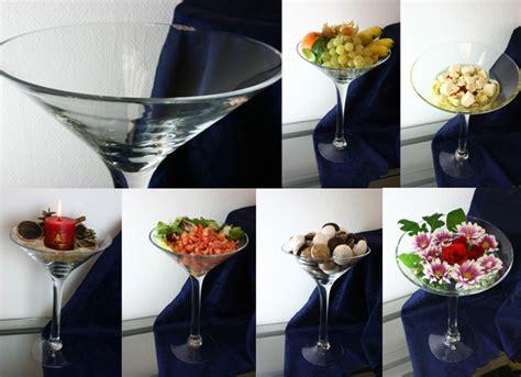 Große Martini Glas Schale 34