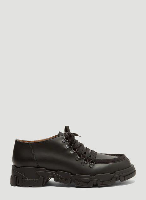 Lanvin Explorer Derby Shoes in Black   LN-CC   Derby shoes ...