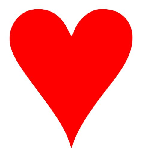 From wikimedia commons, the free media repository. File:Card heart.svg - Wikipedia