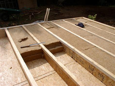 isolation sur plancher bois maison 224 ossature bois sur pilotis espaces syst 232 mes bois