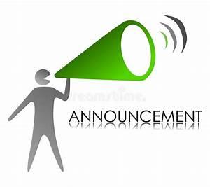 Announcement Stock Illustrations – 204,390 Announcement ...