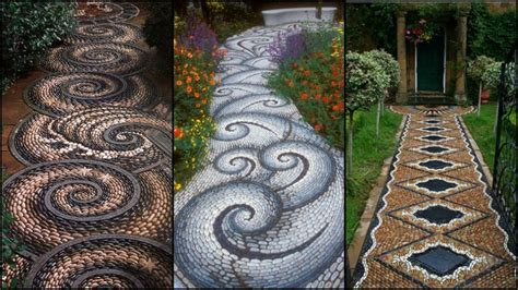 dreamy stone diy garden paths   backyard