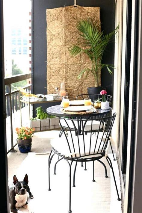 Kleinen Balkon Einrichten by Kleinen Balkon Gem 252 Tlich Einrichten