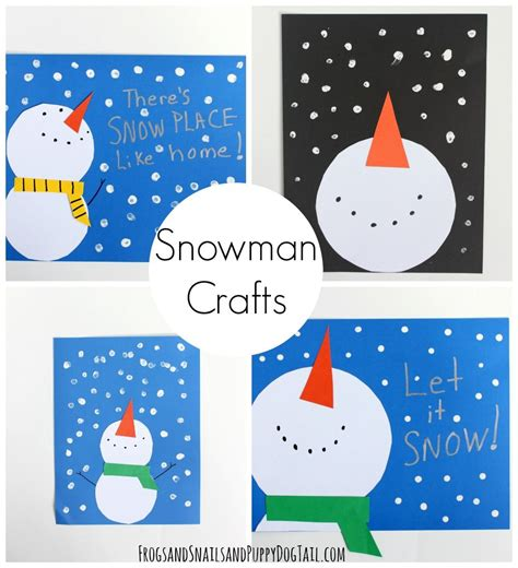 snowman craft for crafts crafts for and kid 507 | 9faf3f0598a0f4081927c51a72897063