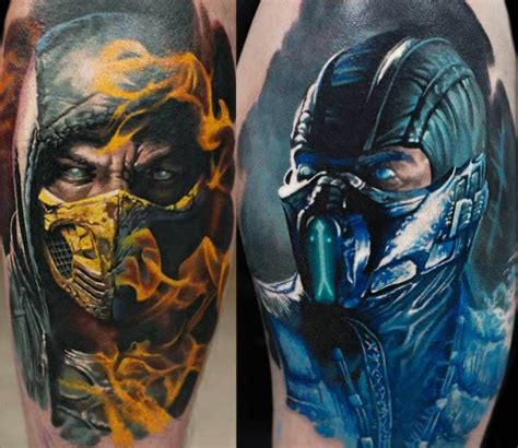 Mortal Kombat Tattoo By Denis Sivak  Pinterest Mortal