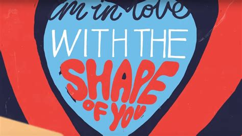 Shape Of You [official Lyric Video]