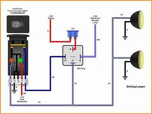 5 Blade Relay Wiring Diagram Schematic