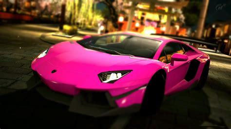 Free Cars Wallpapers Downloads Pink by Lamborghini Rosa Hd Carro Papel De Parede Widescreen
