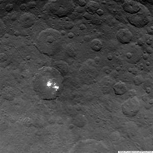 New Photos Of Mysterious Bright Spots On Ceres Are The