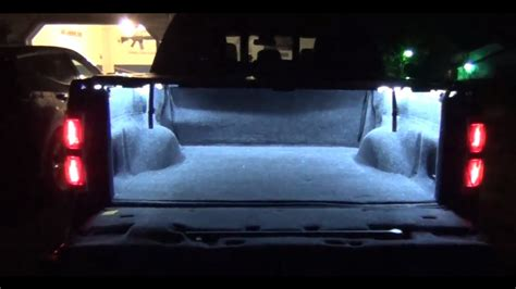 Truck Bed Led Lights by Truck Bed Lights With Led Strips Diy How To Doovi