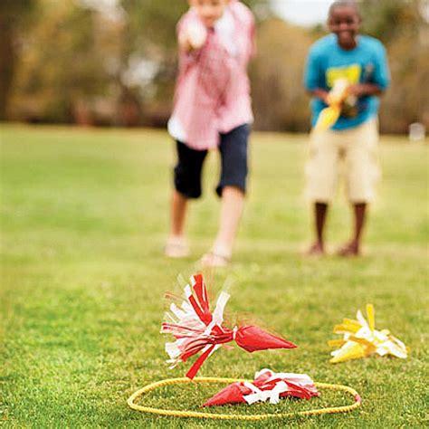 DIY Outdoor Lawn Games