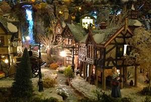 Village De Noel Miniature : village de no l 2012 nuit petits mondes miniatures de no l ~ Teatrodelosmanantiales.com Idées de Décoration