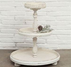3-Tier Trays Display Stands Serving Stand Tiered