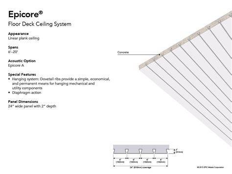 Epicore Deck Rating by Epicore Concrete Floor System Floor Matttroy