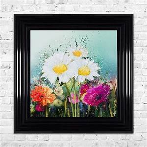 Meadow, Flowers, Framed, Wall, Art, By, Shh, Interiors
