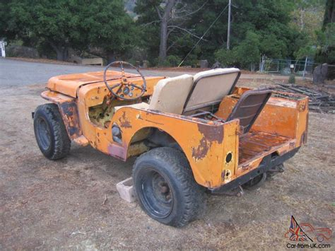 1941 Jeep Willys Ma Engine 1941 Free Engine Image For