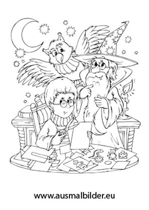 ausmalbilder merlin der zauberer maerchen malvorlagen