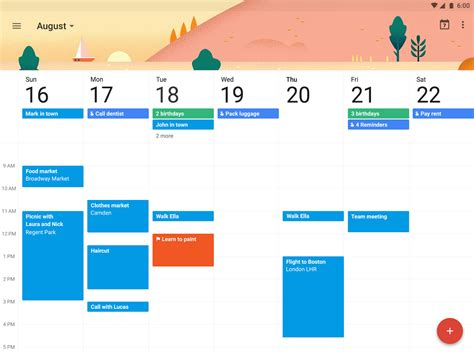 gmail apps for android calendar android apps on play