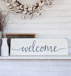 Wood, Welcome, Sign, 24x, 7, 25, Rustic, Wood, Sign