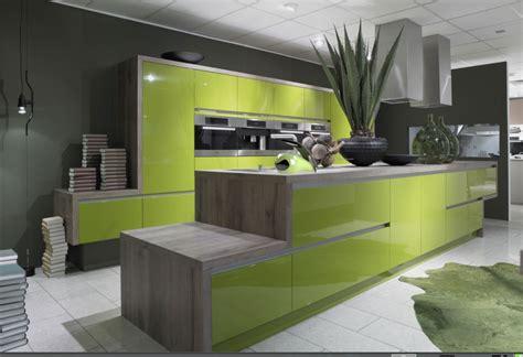cuisine équipé pas cher cuisine design verte