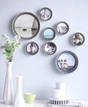 Frische Wanddekoration Mit Pflanzenwand Blumentopf In Bildrahmen by Backformen Als Bilderrahmen Bild 4 Living At Home