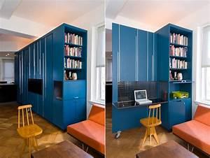 Super, Small, Apartment, Design, In, Manhattan