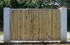 Bambus Edelstahl Sichtschutz : bambusz une gelb aus bambus ~ Markanthonyermac.com Haus und Dekorationen