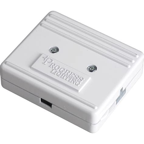 under cabinet lighting junction box progress lighting hide a lite iii white direct wire
