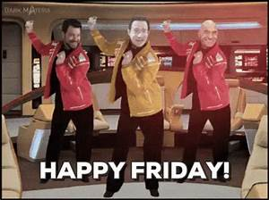 Happy Friday GIF - HappyFriday StarTrek Dance - Discover ...