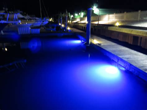 image gallery led dock lights